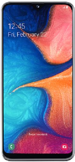 Samsung A20e GALAXY A20 Fehér 32GB Dual Okostelefon (SM-A202FZWDXEH)