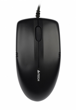 A4-Tech OP-530NU V-Track USB optikai fekete egér