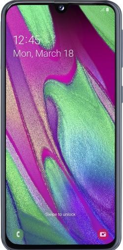 Samsung A405F Galaxy A40 Fekete 64GB Dual Okostelefon (SM-A405FZKDXEH)