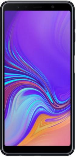 Samsung Galaxy A7 (2018) 64GB DS Fekete Okostelefon (SM-A750FZKUXEH)