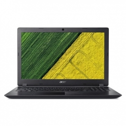ACER ASPIRE A315-51-34V8, 15.6'' HD, I3-7020U23, 4GB DDR4, 128GB SSD, NO ODD, INTEL HD GRAPHICS 620, ELINUX, FEKETE