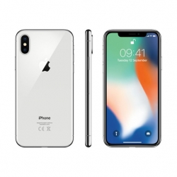 Apple Iphone X 256GB Ezüst - (MQAG2)