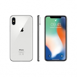 Apple Iphone X 64GB Ezüst - (MQAD2)