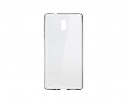 Nokia 3 szilikon hátlap Átlátszó