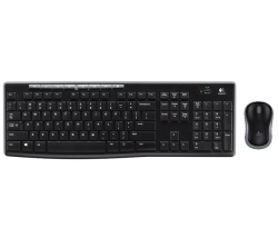 Logitech MK270 wireless angol billentyűzet + egér ( 920-004508 )