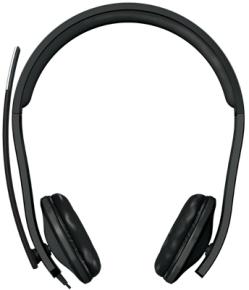 Microsoft LX-6000 USB mikrofonos fekete fejhallgató (  7XF-00001)