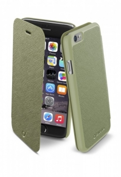 Cellularline Book Color iPhone 6 zöld telefontok (BOOKCOLORIPH647G)