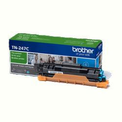 BROTHER TONER TN-247C, HIGHCAP- 2.300 OLDAL (ISO/IEC 19798), KÉK