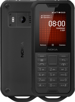 Nokia 800 TOUGH Dual Sim Fekete (16CNTB01A02)