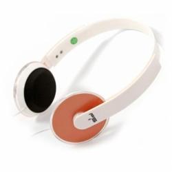 Omega FH3930O fehér-narancs mikrofonos fejhallgató