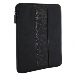 4World Tatoo tabletta táska 9.7 fekete és szürke (08653)