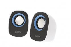 Hangszóró 2.0 Vezetékes 4 W Fehér-Kék (SW20SPS110BU)