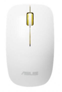 Asus WT300 wireless optical mouse 1000/1600dpi 2.4GHz fehér-sárga (90XB0450-BMU030)