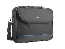 Natec IMPALA fekete-kék Notebook Táska 17,3'' (NTO-0359)