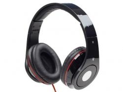 Gembird stereo headphones DETROIT Mini Jack fekete (MHS-DTW-BK)
