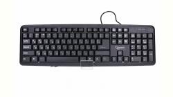 Keyboard Gembird KB-U-103, USB 1.4m, Standard full size RU layout fekete (KB-U-103-RU)