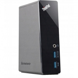 Lenovo Thinkpad OneLink Pro Dock - with 90 W (Slim Tip) Power Adapter Refurbish fekete (DU9033S1)