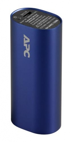 APC Mobile Power Pack, 3000mAh Li-ion cylinder Kék (M3BL-EC)