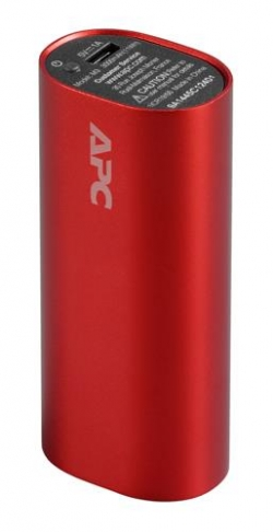APC Mobile Power Pack, 3000mAh Li-ion cylinder piros (M3RD-EC)