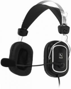 A4Tech EVO Vhead 50 mikrofonos fejhallgató fekete (A4TSLU09264)