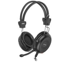 A4Tech HS-30 mikrofonos fejhallgató fekete (A4TSLU29942)