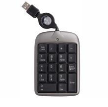A4Tech Numerick Pad USB billentyűzet fekete-ezüst (A4TKLA10320.)