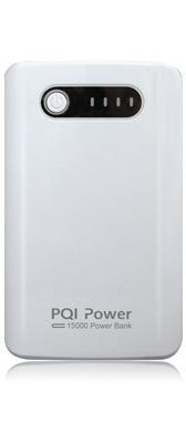 PQI Power Bank 15000mAh fehér (6PPG-119R0005A)