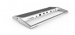 Unitek Dokkoló állomások USB Typ-C fehér-szürke (Y-3708)