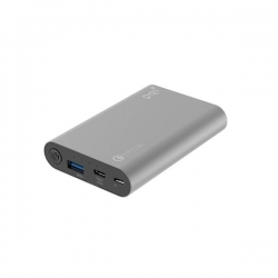 PQI Power Bank 10000CV QC 3.0 szürke (6ZB352328R001A)