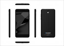 Blaupunkt SL+02 Dual Sim Okostelefon fekete (SL+02)