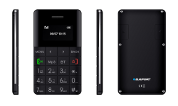 Blaupunkt FXS 01 Single Sim Mobiltelefon fekete (FXS 01 Black)