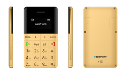 Blaupunkt FXS 01 Single Sim Mobiltelefonok arany (FXS 01 Gold)