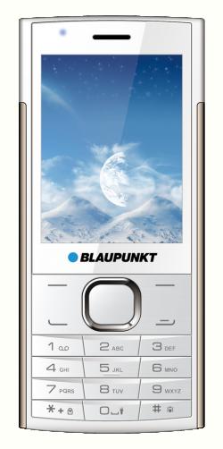 Blaupunkt FL 01 Single Sim Mobiltelefon fehér-arany (FL 01 White-Gold)