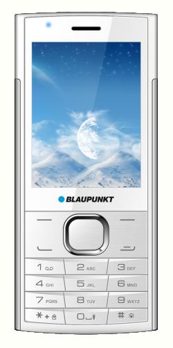 Blaupunkt FL 01 Single Sim Mobiltelefon fehér-ezüst (FL 01 White-Silver)