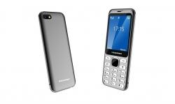 Blaupunkt FL 02 Dual Sim Mobiltelefon sötét szürke (FL 02 Black-Grey)