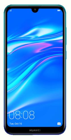 HUAWEI Y7 2019 32GB Dual SIM auróra kék okostelefon (51093WDF)