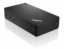 ThinkPad USB3.0 Ultra dock - EU fekete (40A80045EU)