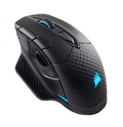 Corsair Dark Core RGB Gaming Mouse  16000DPI Vezeték nélküli fekete (H-9315011-EU)