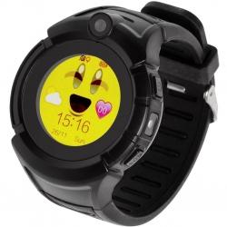 Garett Kids5 GPS Fekete Okosóra (5906874848678)