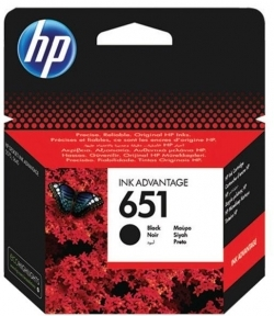 HP Ink Advantage No 651 fekete tintapatron (C2P10AE)