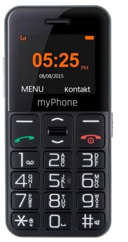 myPhone Halo Easy fekete mobiltelefon (5902052866632)