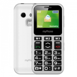 myPhone Halo mini fehér SS mobiltelefon (5902052867387)