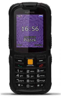 myPhone HAMMER 2+ fekete mobiltelefon (5902052862146)