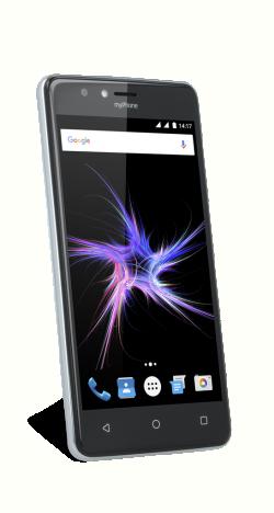 myPhone Power fekete okostelefon (5902052869787)