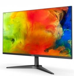 Monitor AOC 23,6'' panel MVA D-Sub/HDMI fekete (24B1H)