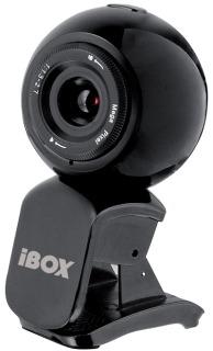 I-BOX VS-1B Pro True Webkamera fekete (IKTA109)