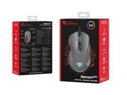 Genesis Gaming optical mouse XENON 210 USB 3200 DPI with software  ezüst (NMG-0904)