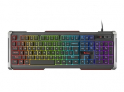 Keyboard GENESIS RHOD 400 GAMING RGB Backlight USB US kiosztás (NKG-0993)