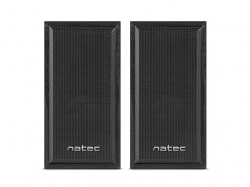 Natec Panther computer speakers 2.0 6W RMS fekete (NGL-1229)