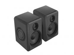 Natec LYNX computer speakers 2.0 6W RMS fekete (NGL-1230)